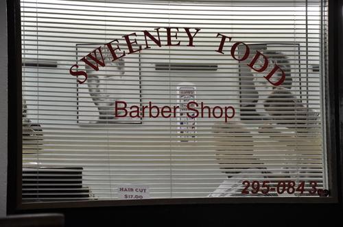 Sweeney Todd Brabershops!