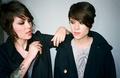 Tegan and Sara's SPIN Shoot