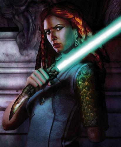 Tenai Ka Djo - Jedi Knight & queen Mother of Hapes