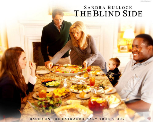 filmes wallpaper with a jantar table, a pizzeria, and a jantar called The Blind Side