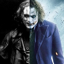 The Joker vs. The 乌鸦