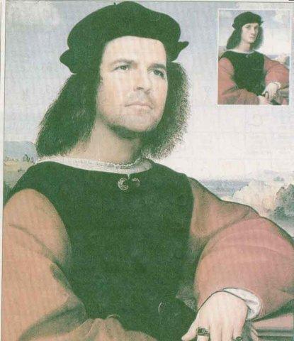 Thomas Anders - a Renaissance portrait