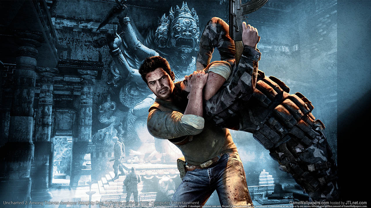 Uncharted 2 among thieves uncharted wallpaper 9120321 - Uncharted wallpaper ...