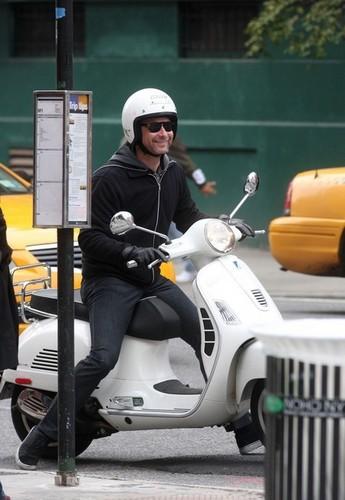 Vespa Rider Liev