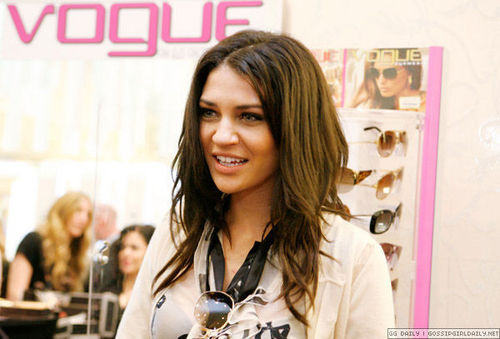 Vogue Eyewear Store Event Featuring Jessica Szohr
