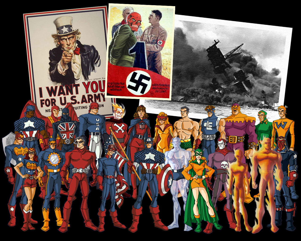 Marvel Comics WW2 Marvel