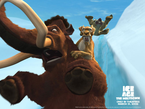 Ice Age wallpaper called Water Slide