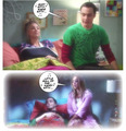 comic shenny - penny-and-sheldon fan art