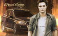 edward cullen and his volvo - twilight-crepusculo wallpaper
