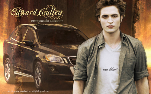 edward cullen and his volvo