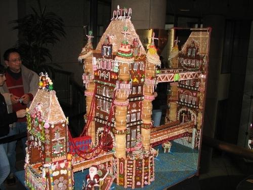gingerbread kasteel