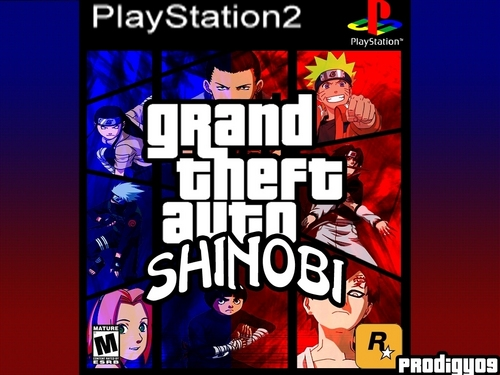 Naruto Shippuuden پیپر وال titled grand theft auto: shinobi