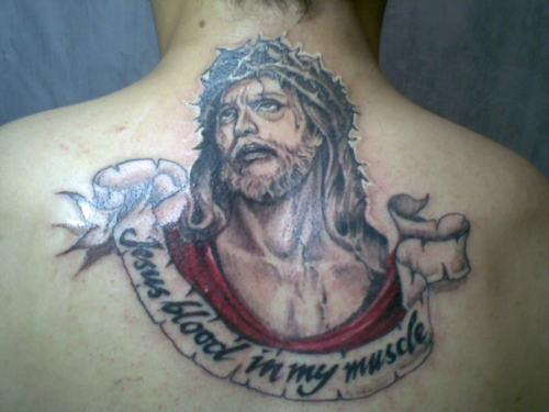 jesus blood in my muscle