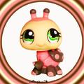 littlest pet shop ladybug 1264