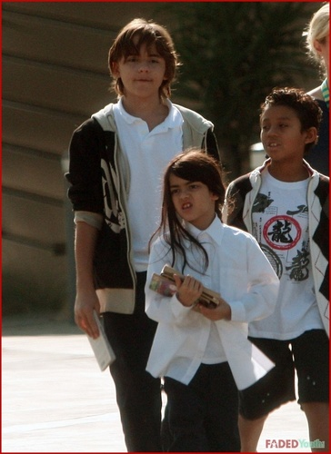prince,paris and blanket going to the 图书馆