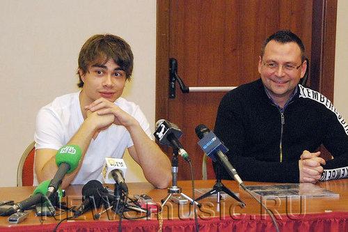 sasha in russia 24/11/2009