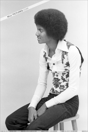 Michael Jackson Hintergrund probably with a hip boot called sexy 70's