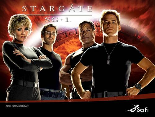 Stargate SG-1 wallpaper probably containing a leotard entitled sg1