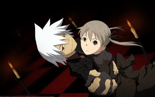 soul x maka - soul-eater Wallpaper