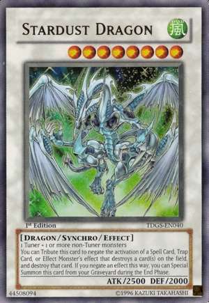 stardust dragon - yugioh-5ds PhotoYugioh Cards 5ds Dragons