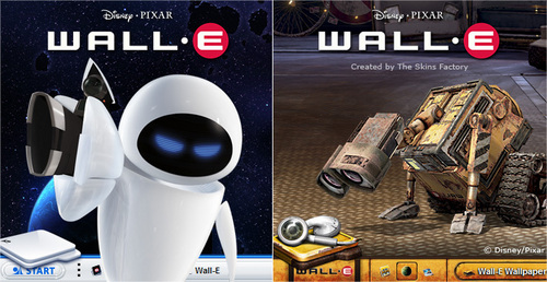 WALL-E Hintergrund probably with Anime called walle