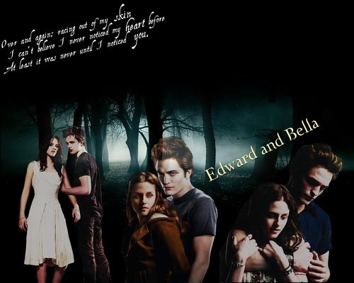 .Edward&Bella দেওয়ালপত্র <3