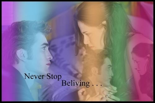 """I love u Edward!!"" ""You to Bella"""