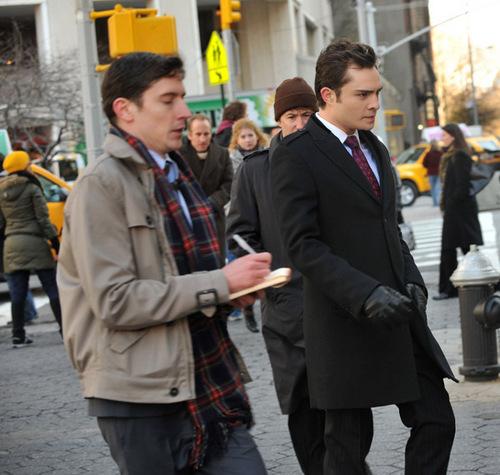 01.12.2009 - On set