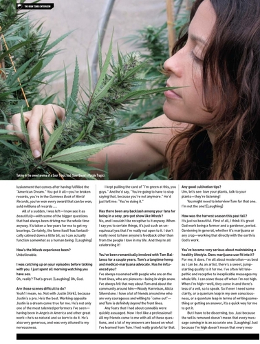 Alanis Morisette in High Times
