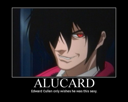 Alucard's hotness not in tanong