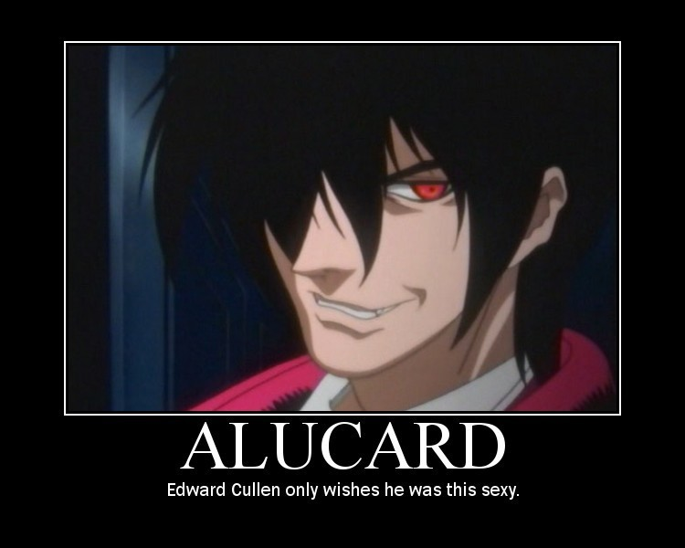 Alucard's hotness not in question