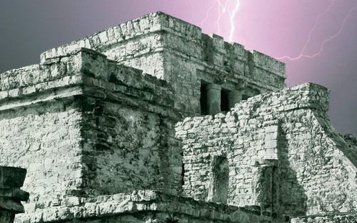 Ancient History wallpaper possibly with an acropolis titled Ancient Architecture