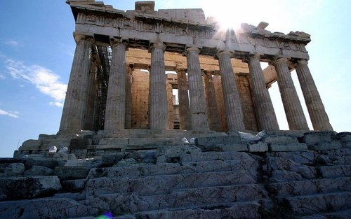 Ancient History wallpaper containing an acropolis entitled Ancient Architecture