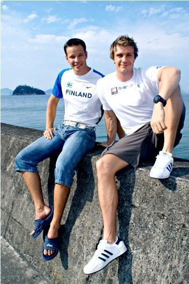 Andreas and Tero Pitkämäki