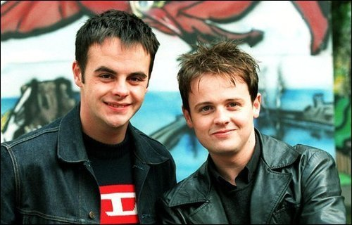 Ant and Dec In Nice Jackets