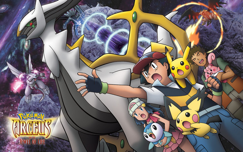 Arceus and the jewel of life - legendary-pokemon Wallpaper