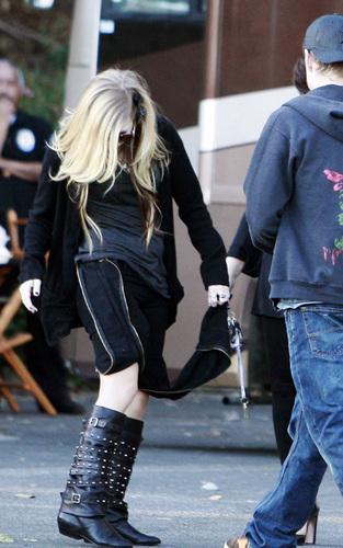 Avril in LA