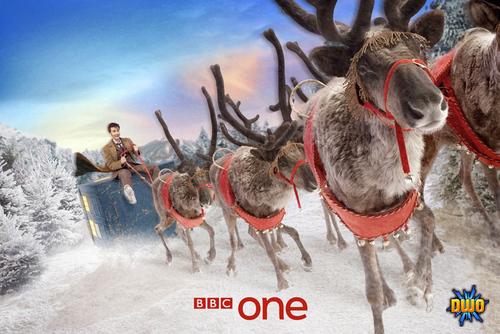 BBC Doctor Who 圣诞节 Ident