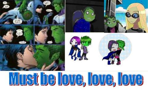 Beast boy in love