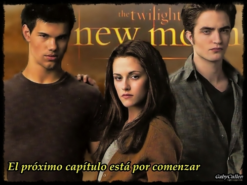 Bella entre Edward y Jacob II