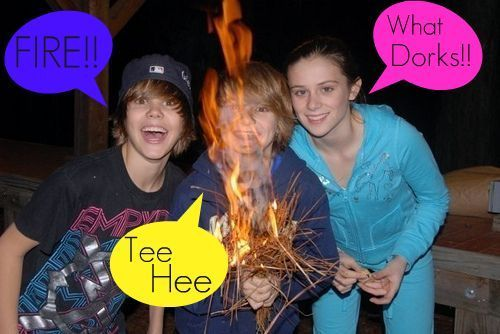 Bieber and Beadles - justin-bieber Photo