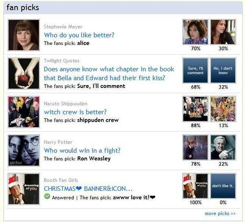Booth Pick on Fanpop Home page!!