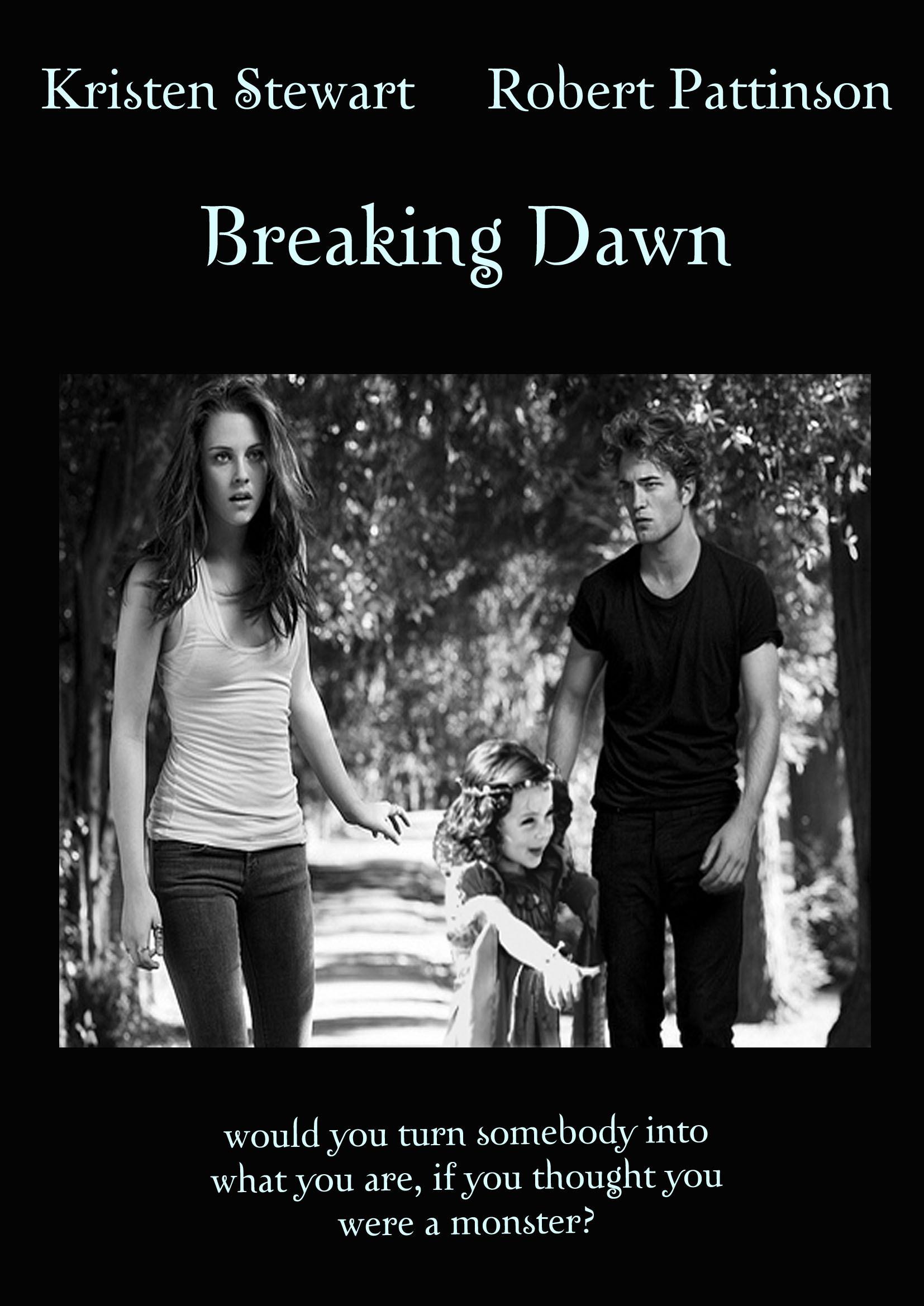 Breaking Dawn Movie Cover