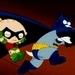 Brian/Batman & Stewie/Robin