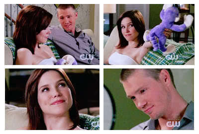 "Brucas ""I l'amour you, Lucas Scott, toi know that."" ""I l'amour toi too, Brooke Davis."""