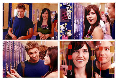 """Brucas """"You totally pimped my locker!"""""""