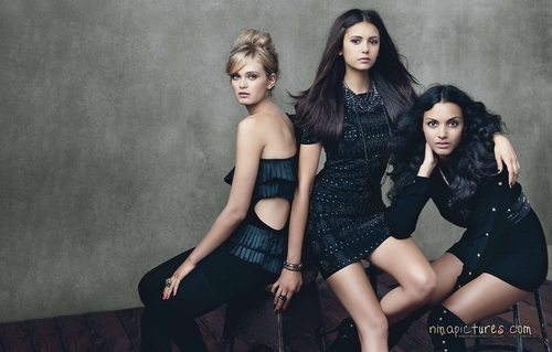 CW Girls in Glamour