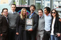 Cast and Chuck Lorre