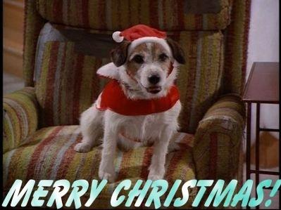 Frasier fondo de pantalla titled navidad Eddie