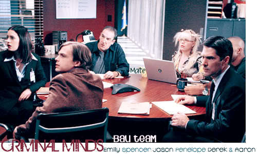 Esprits Criminels fond d'écran with a boardroom called Criminal Minds